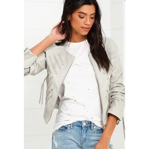 Blank NYC Through and Through Faux Leather Jacket
